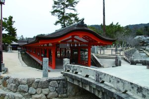 厳島神社 出口