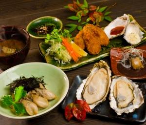牡蠣屋定食