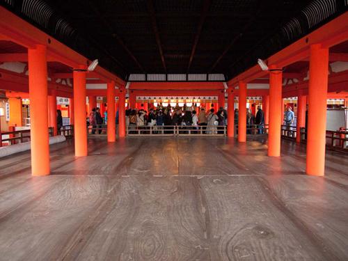 厳島神社 祓殿