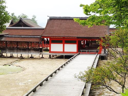 厳島神社 長橋