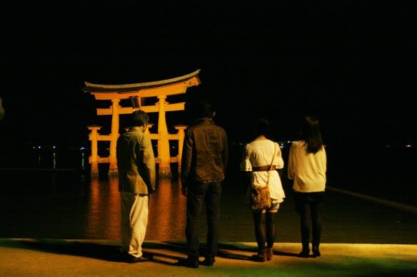 宮島 明るい家族旅行⑯