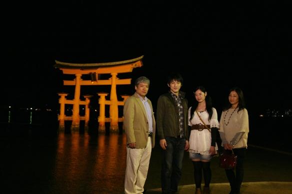 宮島 明るい家族旅行⑰